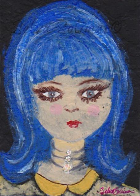 Blue Barbie