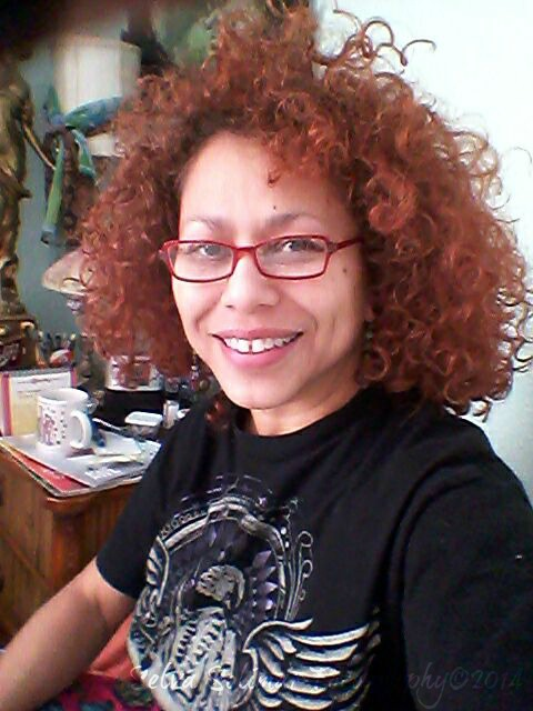 """52/365: Stayed home studying today.....aside from paintings, I have my first big """"paper"""" due Tuesday, so working on dat. :-) 52/365: Me quede en casa estudiando hoy...ademas de pinturas, tengo mi primer """"papel"""" que tengo que entregar el Martes, asi que estoy trabajando duro en so. :-)"""