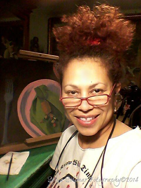 106/365: proof that I really am painting! :) 106/365: prueba de que verdaderamente estoy pintando! :)