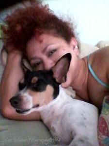 117/365: waking up with yesterday's make-up and Kody's cute little face...he is passed out! LoL!!! ...look at his little toofies!!! hahahaha!!! 117/365: despertando me con el maquillaje de ayer y la carita de Kody...el esta durmiendo! JA!!! ...miren esos dientitos!!! jajajajaja!!!