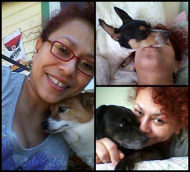 69/365: I couldn't resist spending time with the babies...doggie day! 69/365: No pude resistir de disfrutar con mis chichitos...dia de los perritos!