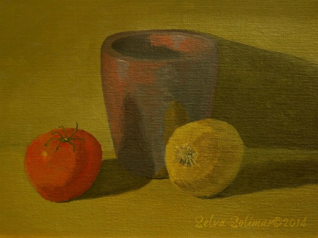 Week #2 - Still Life Painting - Limited Palette