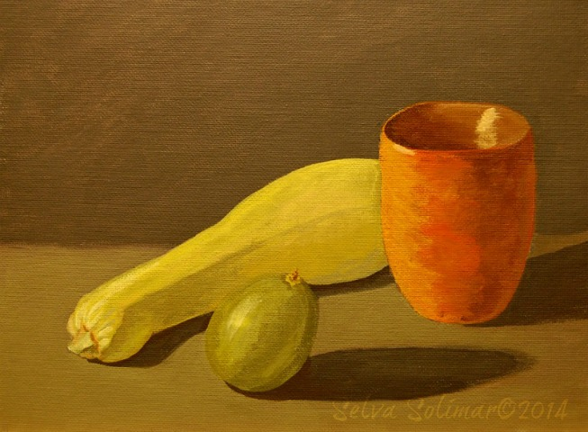 Week #3 - Still Life Painting - Limited Palette