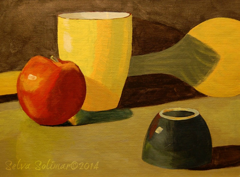 Week #4 - Still Life Painting - Full Color Palette