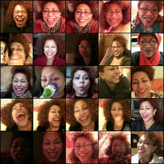 31/365: ...laff a little, willya!!! LMAO!!!!!!! The bottom right was Friday...heehee...VOILA! A month of me is done...hello February! 31/365: ...riete un poquito, si!!! JAJAJAJA!!! La ultima foto a la derecha fue el viernes...jijijiji...VOILA! Un mes de mi esta hecho...hola Febrero!