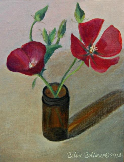 Week #14 - Floral Composition Semana #14 - Composición con flores